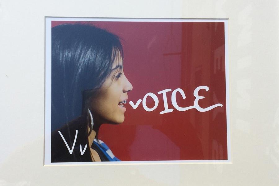 v for voice