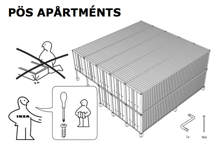 POS Apartments - Spirit Satire