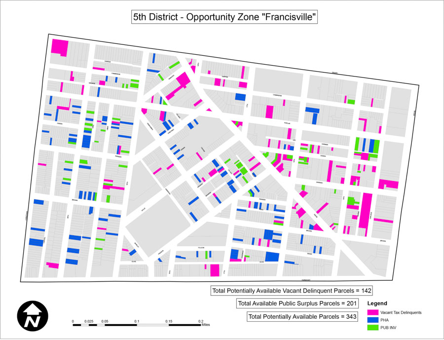 Francisville Zoning Map