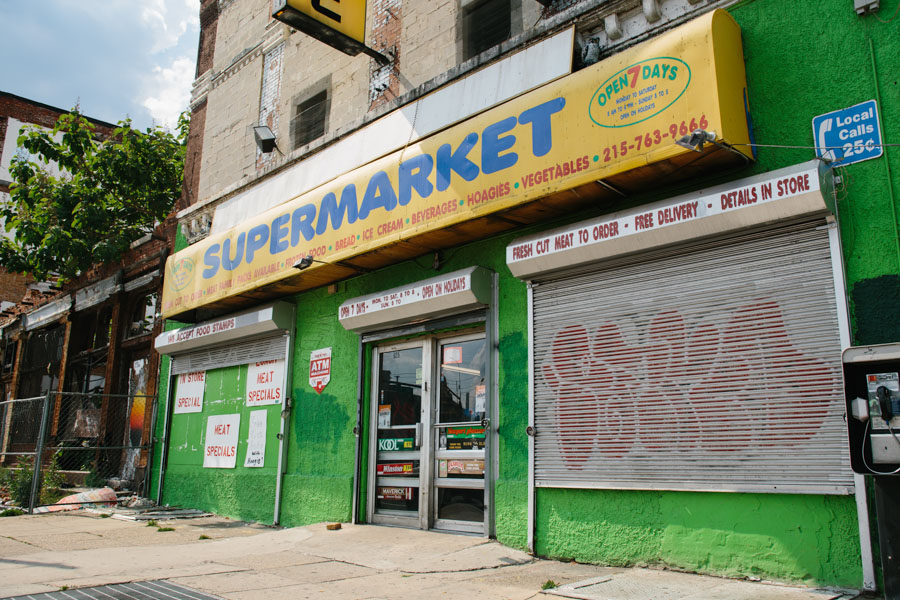 Fine Fare Grocery Store/Patrick Clark