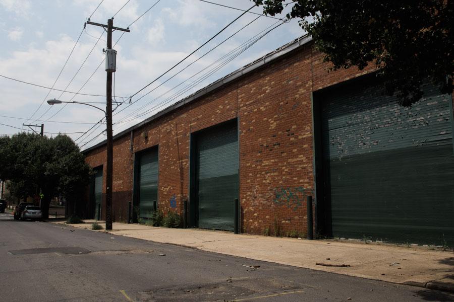 Warehouse on the 1400 block of North Howard Street./Patrick Clark