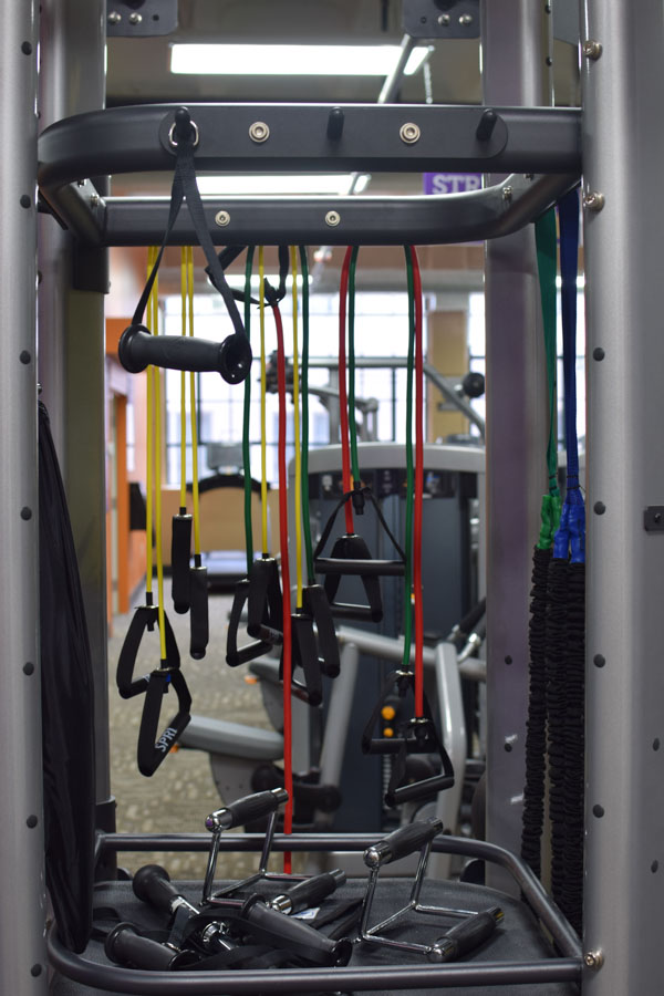 Anytime Fitness gym equipment