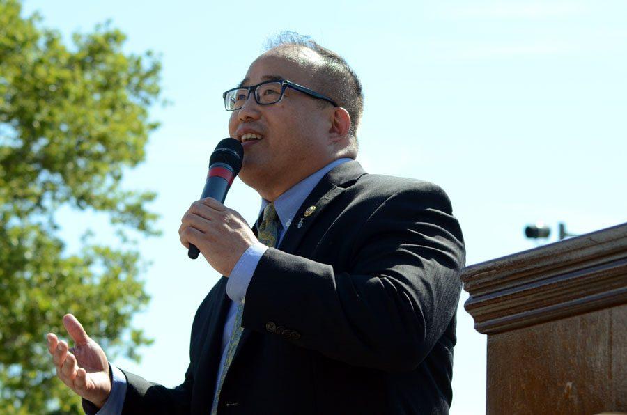 City Councilman David Oh./Megan Matuzak