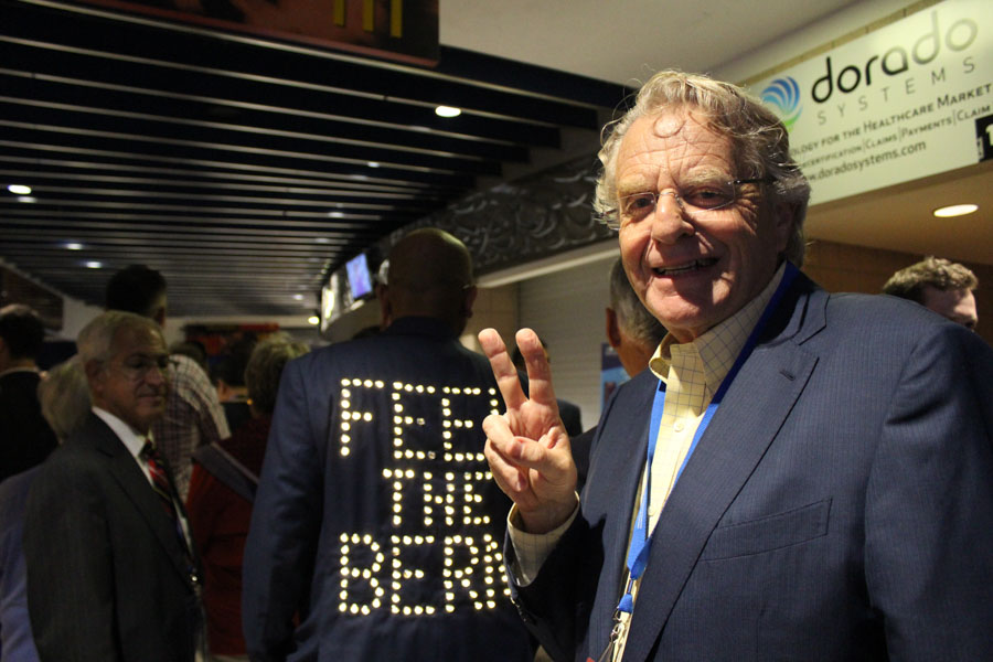 Jerry Springer at the DNC