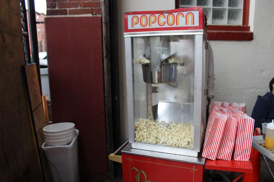 Inphused Philly popcorn machine
