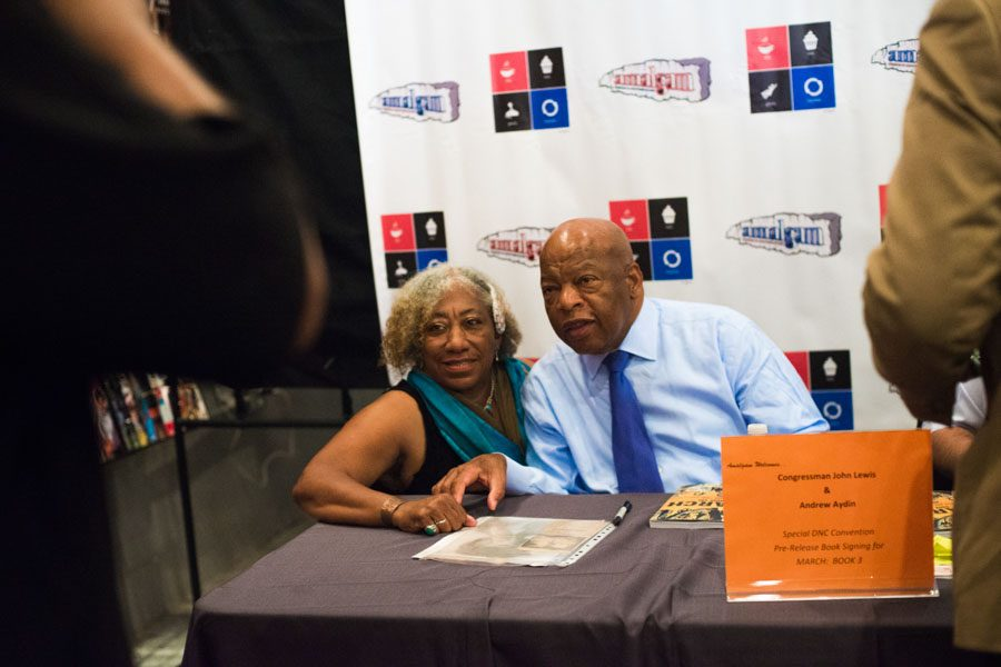 Vernette Carroll and John Lewis