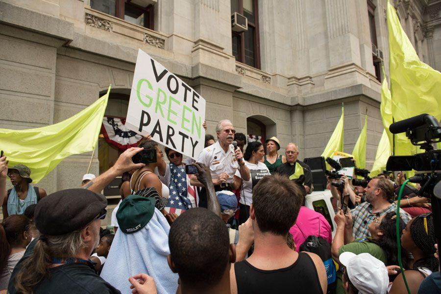 Green Party Rally/Natalie Piserchio