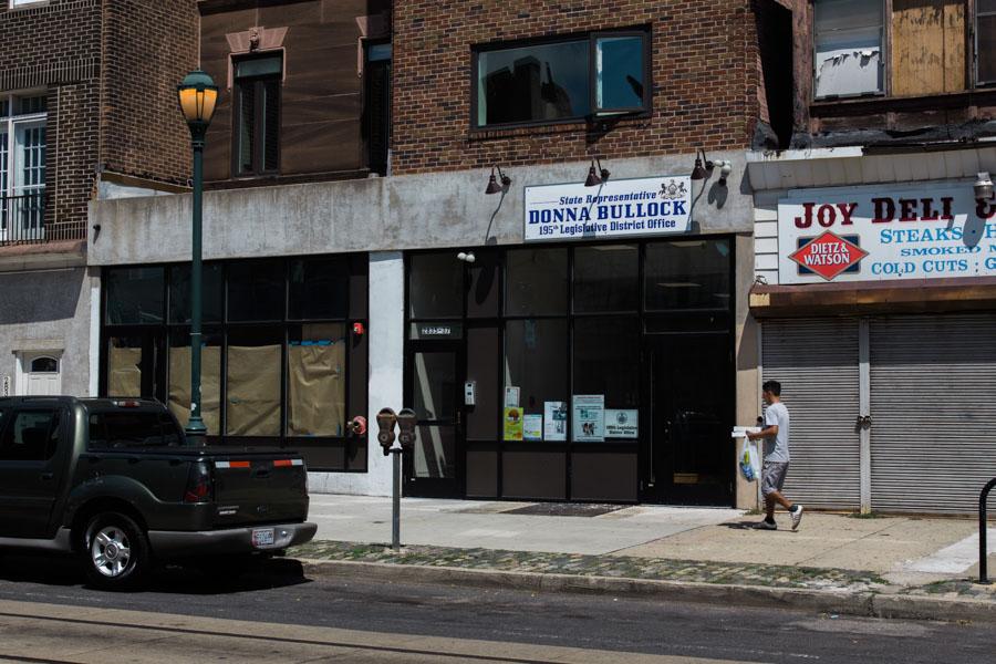 Rep. Donna Bullock's Brewerytown Office/Patrick Clark