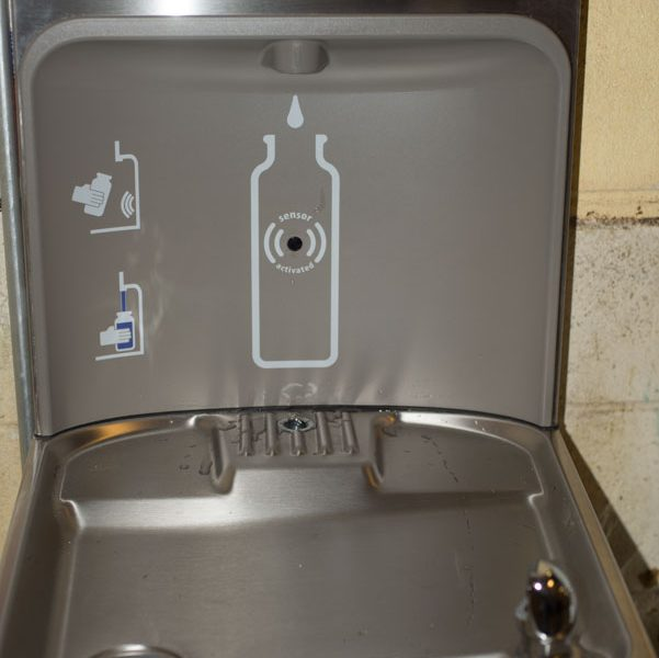New hydration stations at H.A. Brown School.