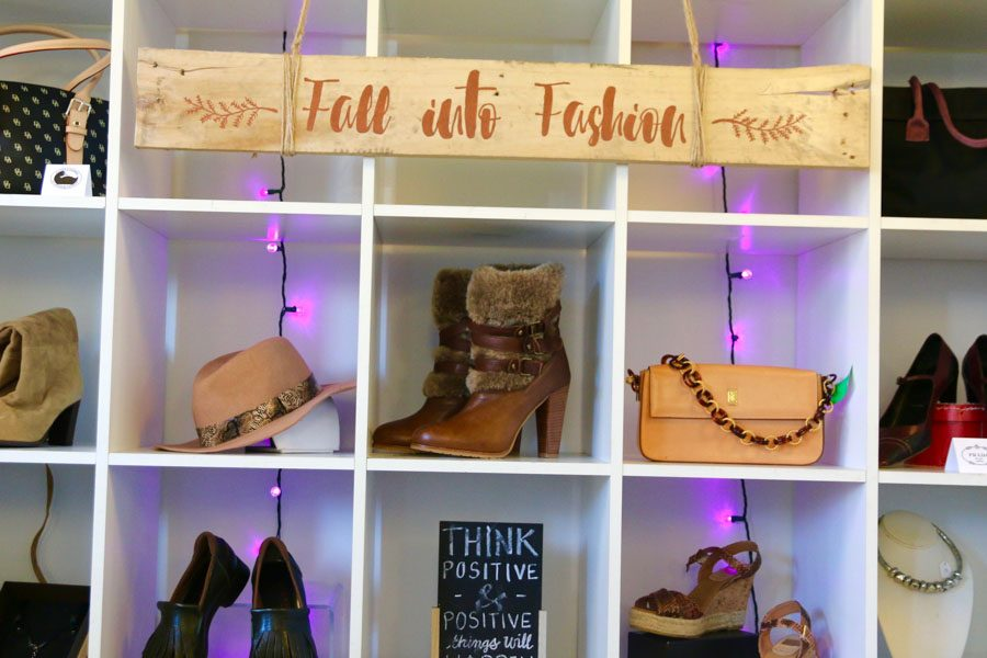 Fall Themed Accessories in Wardrobe Boutique