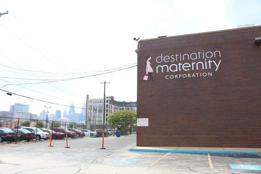 The former Destination Maternity building will soon be the new home of Yards Brewing Company./Kaitlyn Moore