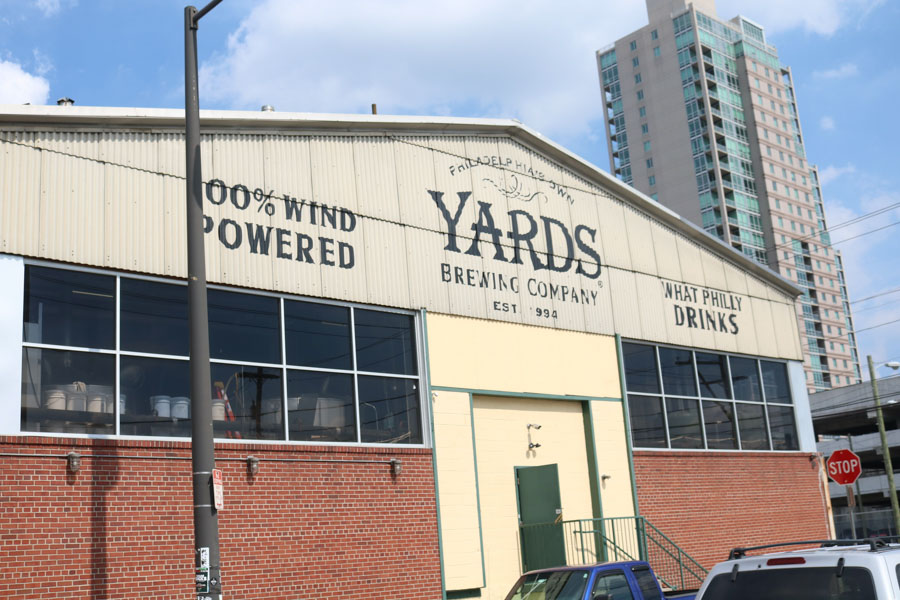 The current Yards brewery./Kaitlyn Moore