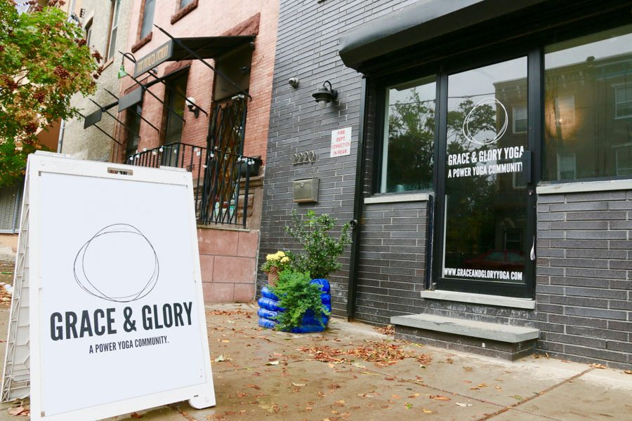 Exterior shot of Grace Glory Yoga
