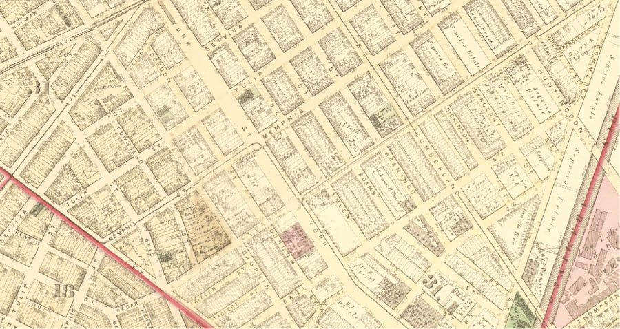 Sepviva 1875 Philadelphia Atlas by G.M. Hopkins