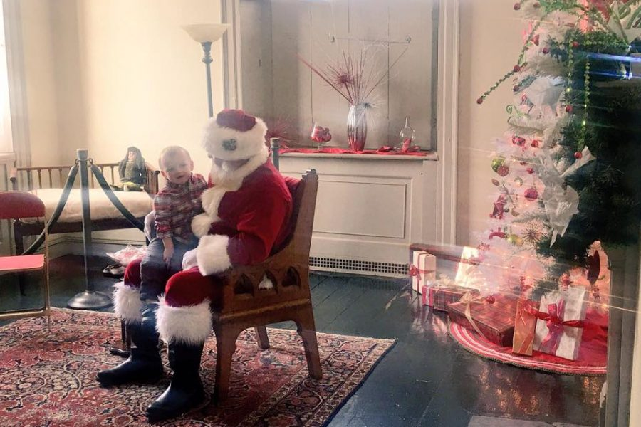 Family Day at Lemon Hill featuring Santa. /Michelle Freeman