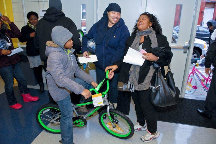 Councilman Derek Green 2016 Bike Giveaway Event-108