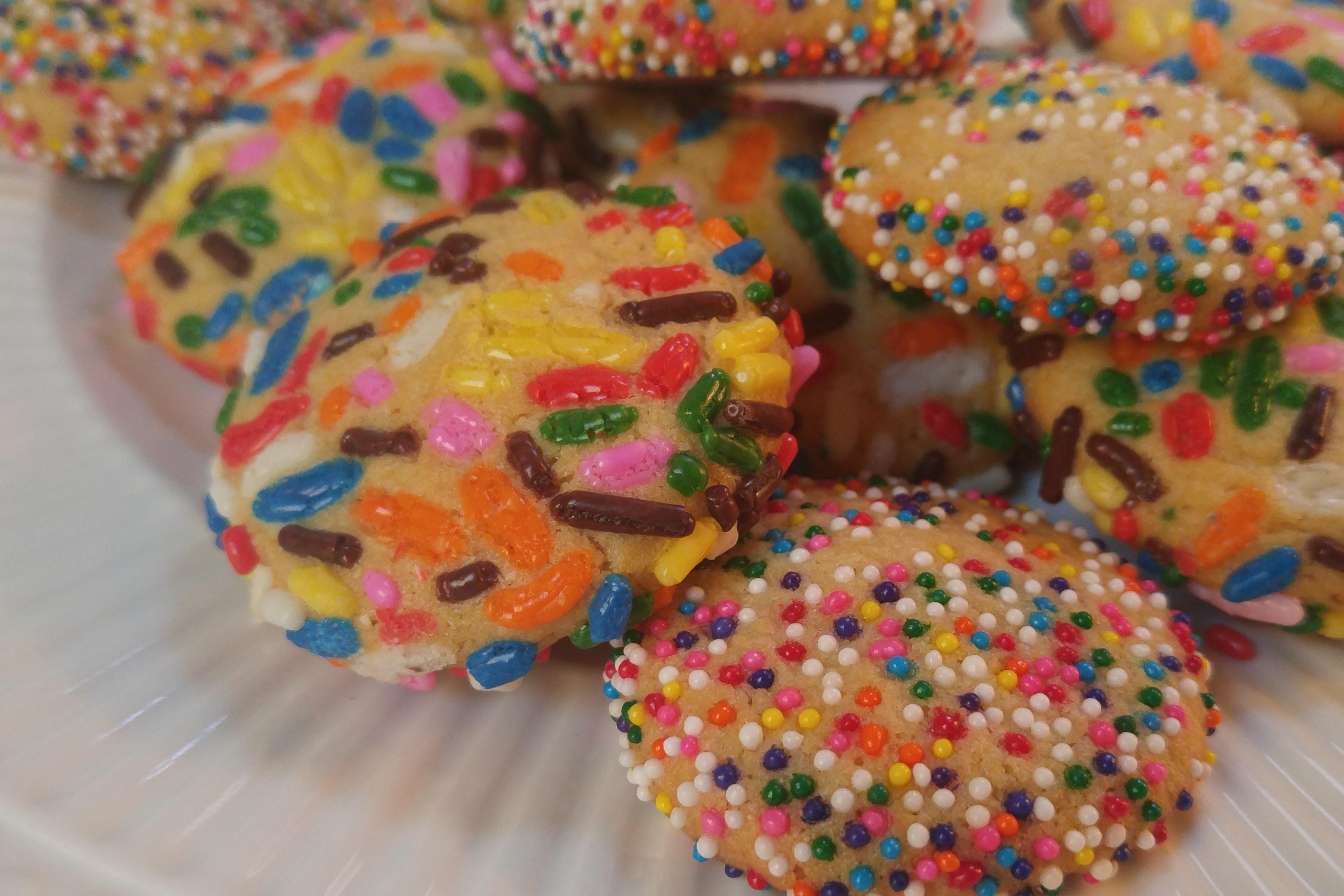 Confetti Cookies Recipe — Dishmaps