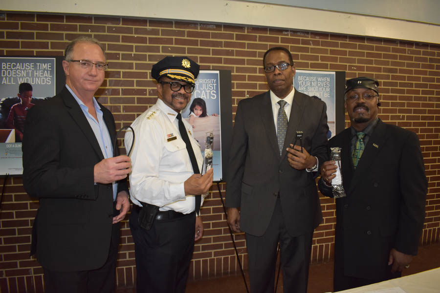 Terry Egger, Sheriff Jewell Williams, Councilman Darrell Clarke & Anthony Murphy