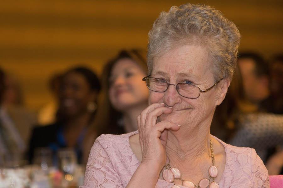 Spirit Award winner Ruth Zarzicki./Photo by Darryl Cobb, Jr.