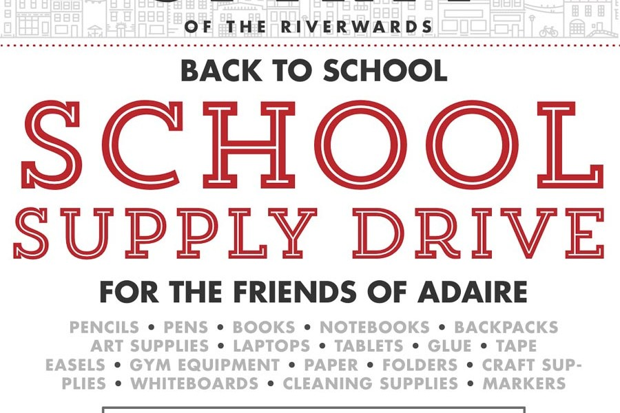 Back to School Drive- Adaire