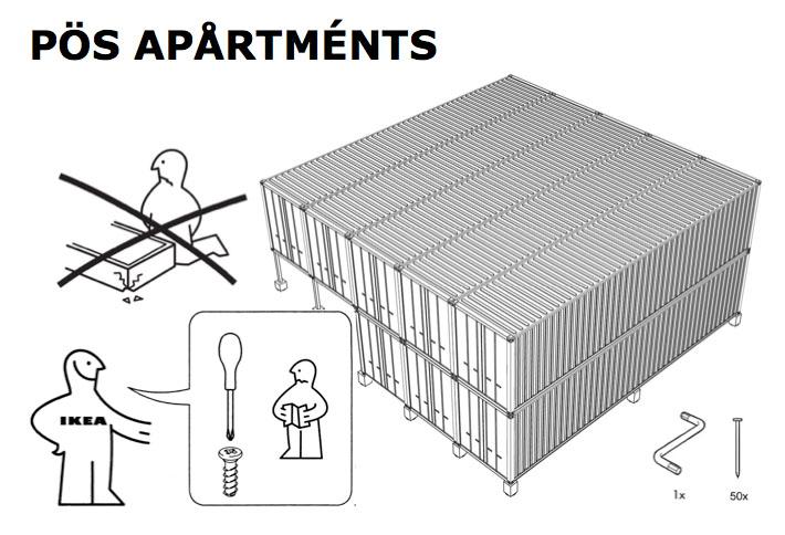 POS Apartments - Spirit Satire