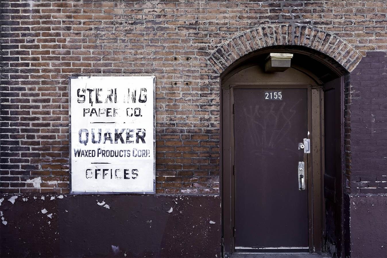 2155 Castor Avenue Door