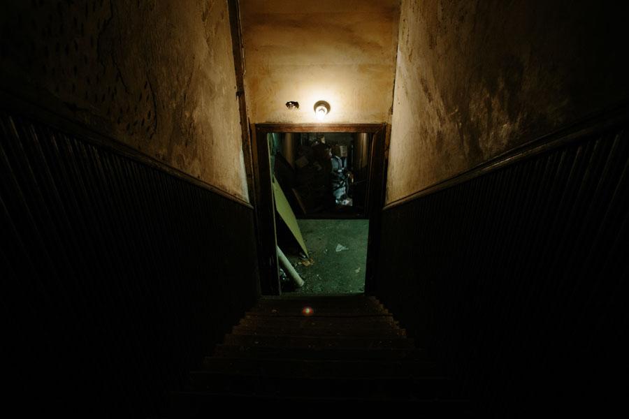 Girard Theater Staircase/Patrick Clark