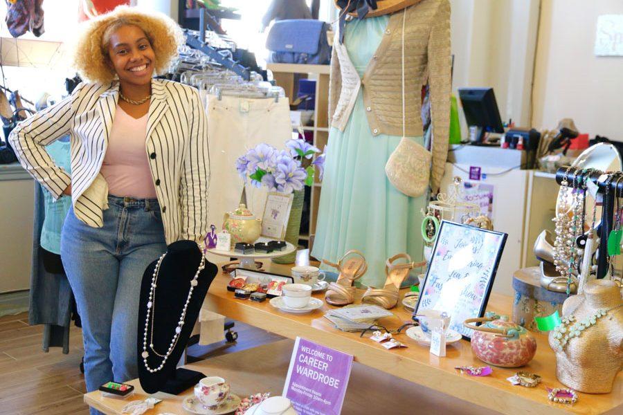 Danielle Townsend, Program Coordinator at Career Wardrobe./Amy Strauss
