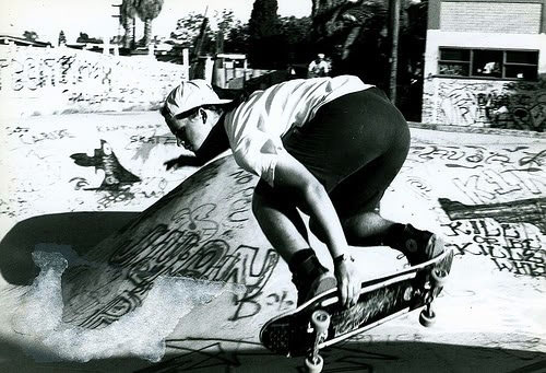 Doug Matlaga, late 80s skate pic.