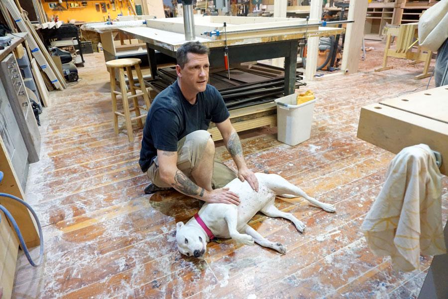 Doug with Finn 10-10-16jm