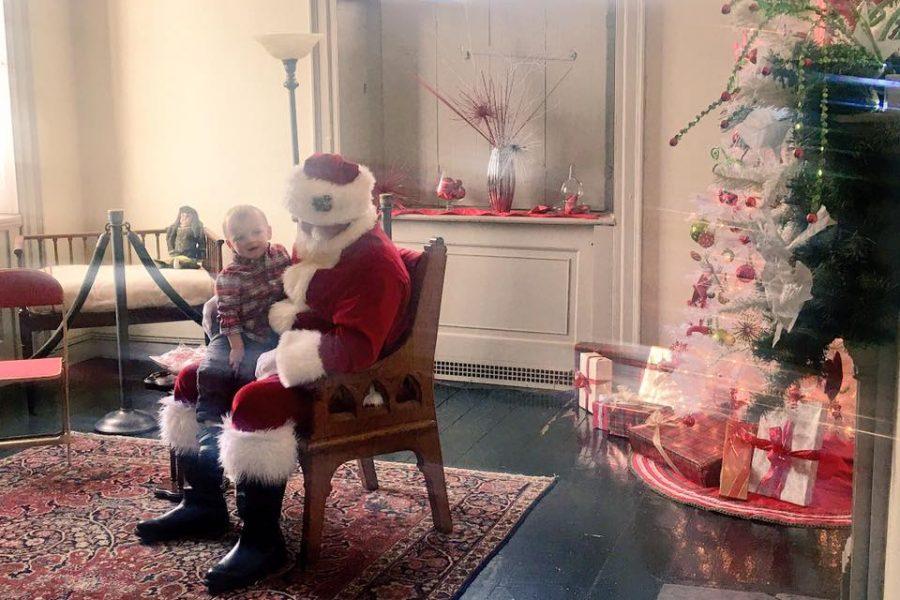 Family Day at Lemon Hill featuring Santa. /Michelle Freeman