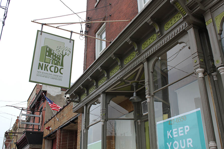 NKCDC's office on Frankford Ave.