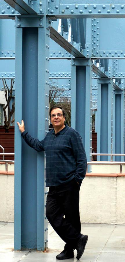 Harry Kyriakodis at Pier 3./Jacquie Mahon