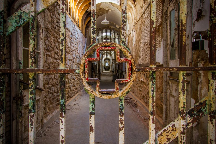 The newly opened hospital block of Eastern State Penitentiary. /Jeremy Powlus for Google+